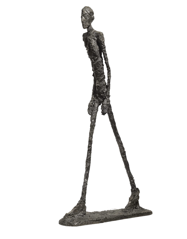 Walking Man I (1960) – Alberto Giacometti