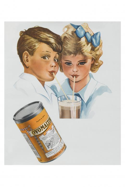 A delicious source of energy for the whole family. Children went crazy for Ovomaltine (poster from 1942). © Wander AG