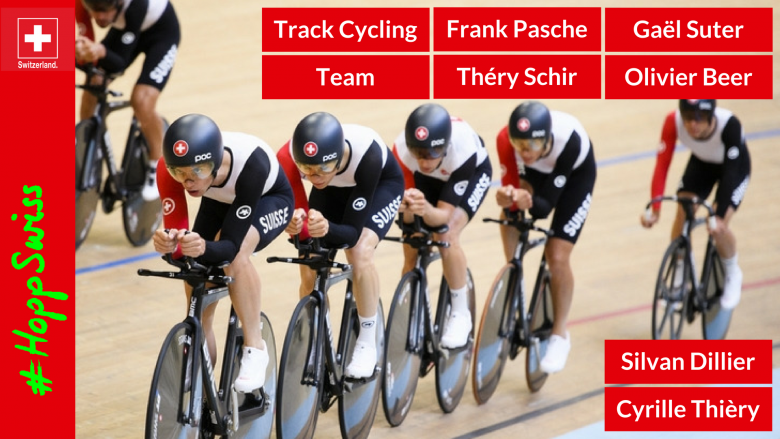 Swiss Cycling track Team