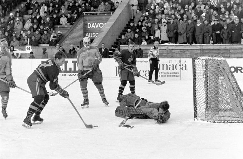 The Spengler Cup in the sixties
