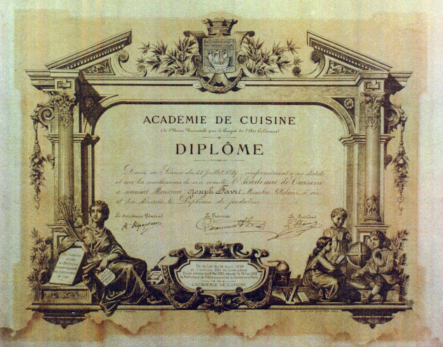 Joseph Favre, Schweizer Pionier der hochkarätigen Kulinarik ...