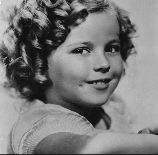 Shirley Temple in the role of Heidi 1937. Source: Die Welt