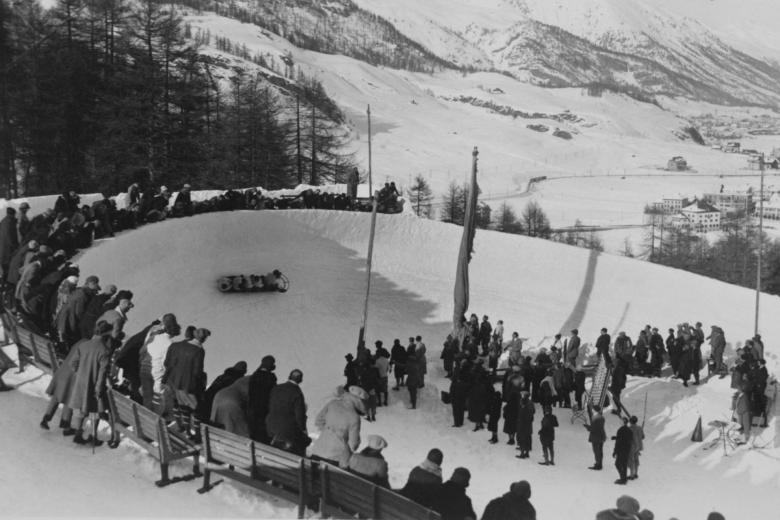 The St Moritz-Celerina Olympic Bobrun is the world's oldest bobsleigh run and the only natural-ice bobsleigh run still in use © https://www.stmoritz.ch/fileadmin/_processed_/csm_bob_history_765_022d336847.jpg