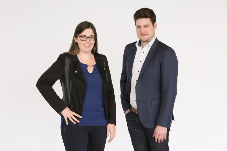 Bestmile co-founders Anne Mellano and Raphaël Gindrat