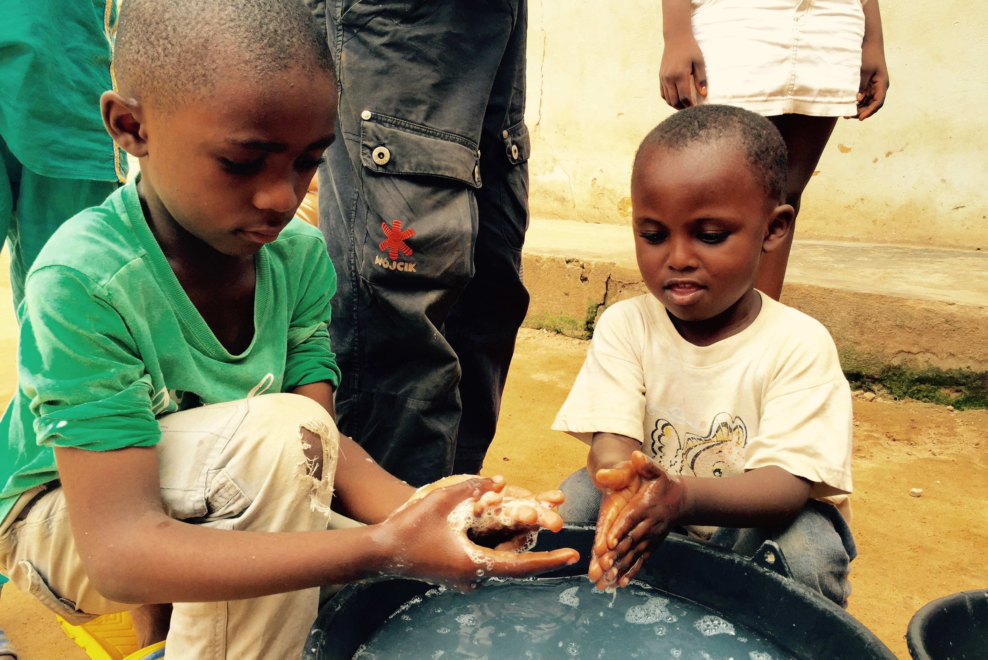 The distribution of soap in poverty-stricken regions significantly improves local hand hygiene practices.