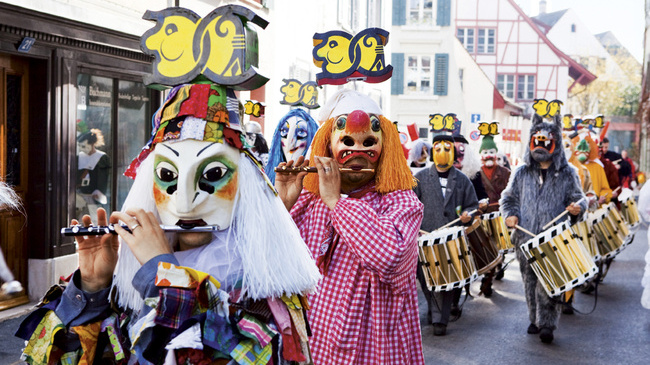 Carnaval de Bâle © Switzerland Tourism