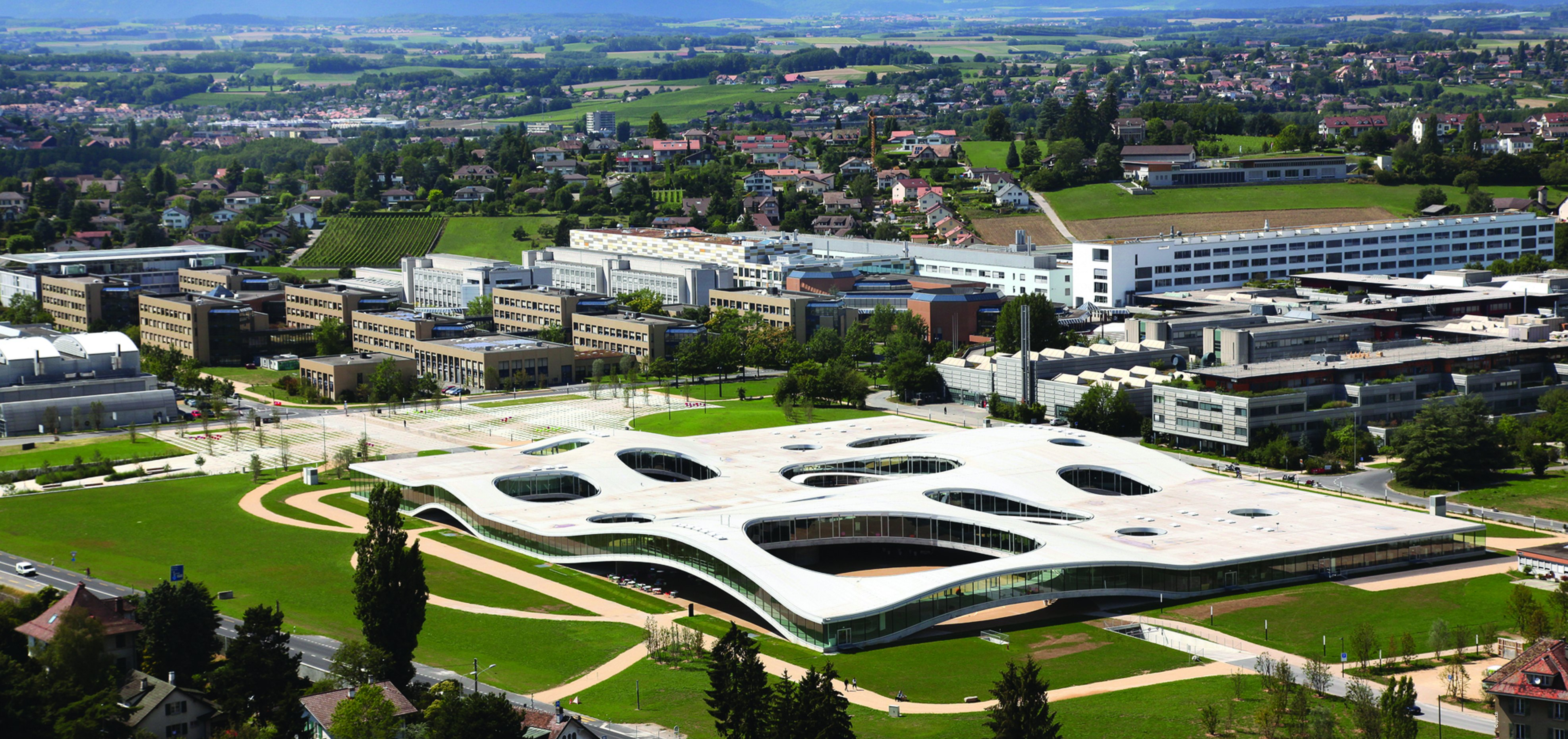 EPFL rolex learning center