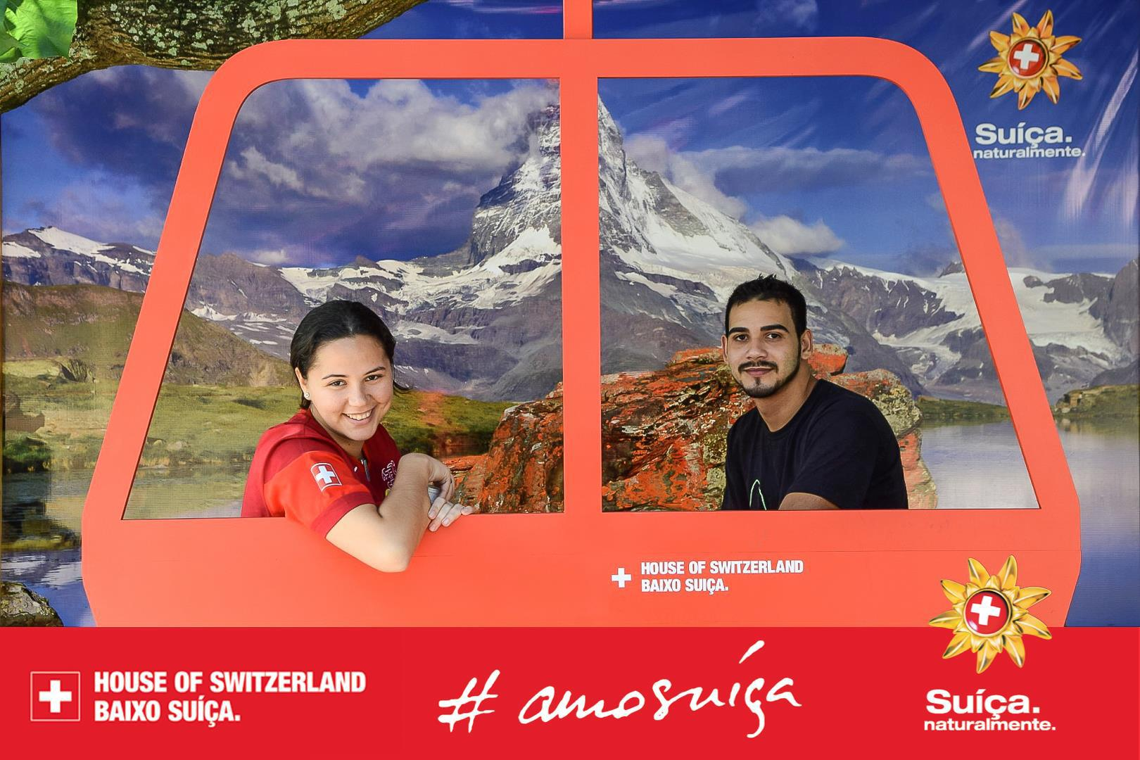Photopoint at House of Switzerland, Rio 2014