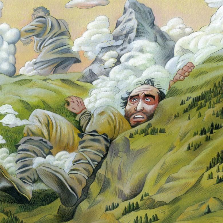 Illustration aus: Mein grosses Buch der Schweizer Sagen und Legenden
