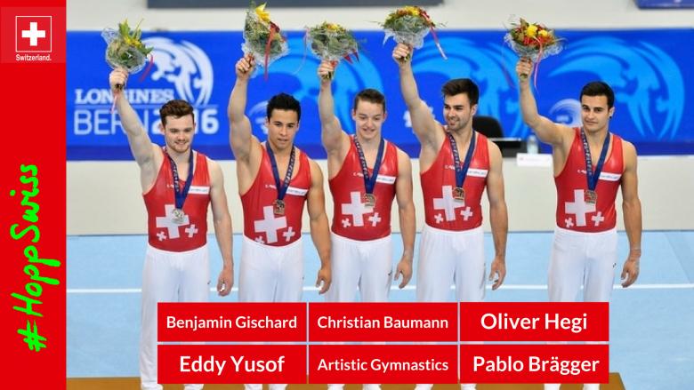 Benjamin Gischard, Eddy Yusof, Christian Baumann, Oliver Hegi, Pablo Brägger