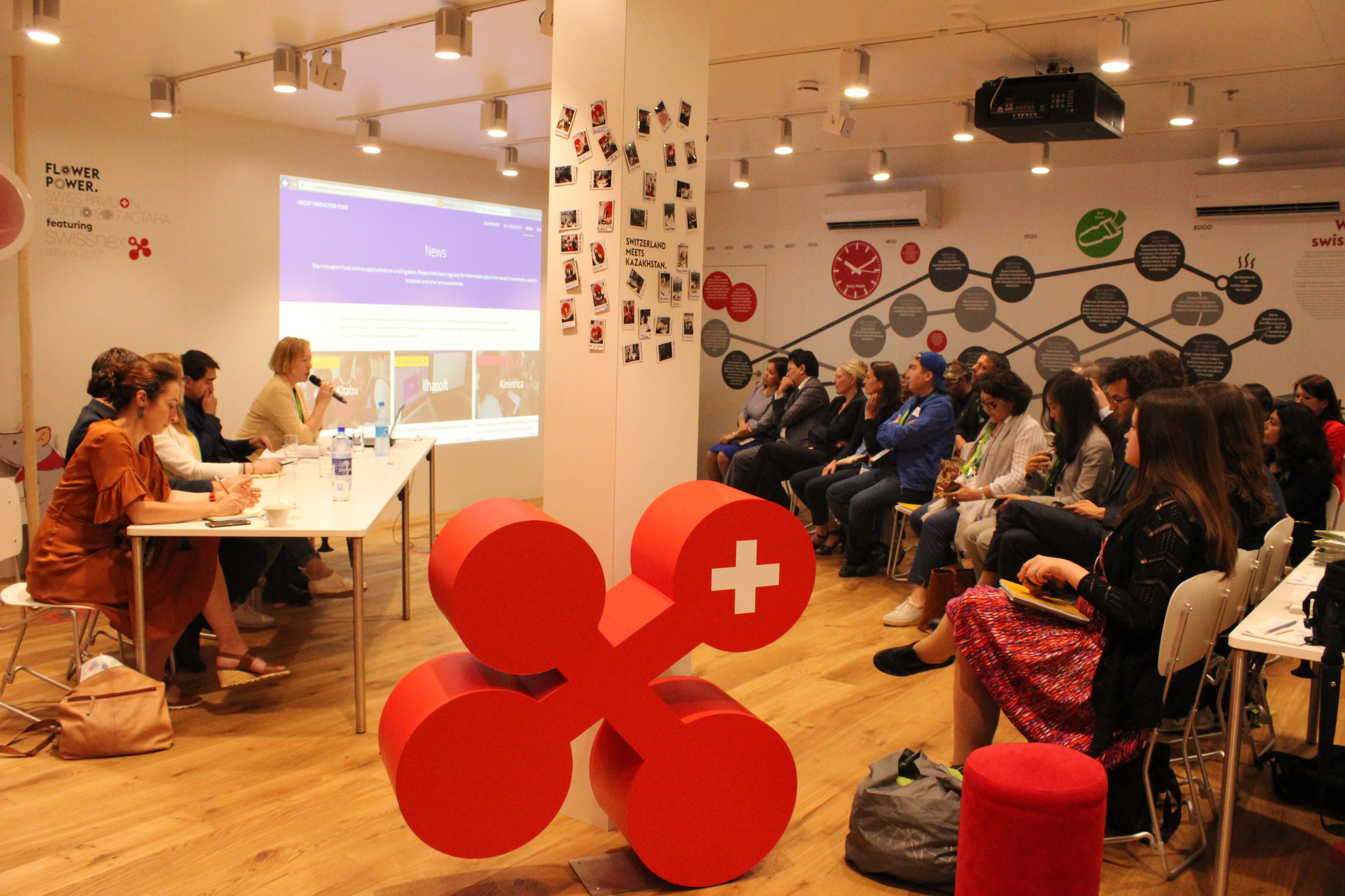 Conference at the swissnex Lab