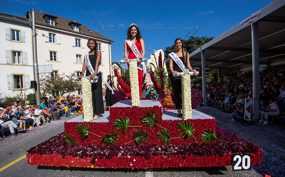 miss neuchatel fete des vendanges