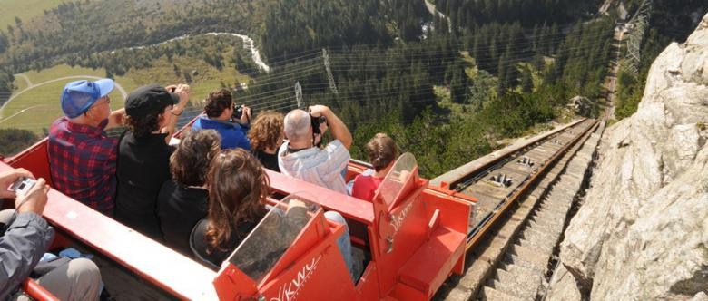 Pure adrenaline: the Gelmerbahn in the Haslital