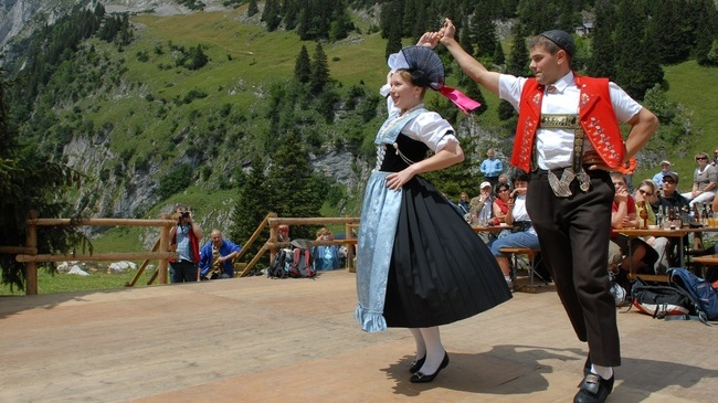 Dancers in Appenzell