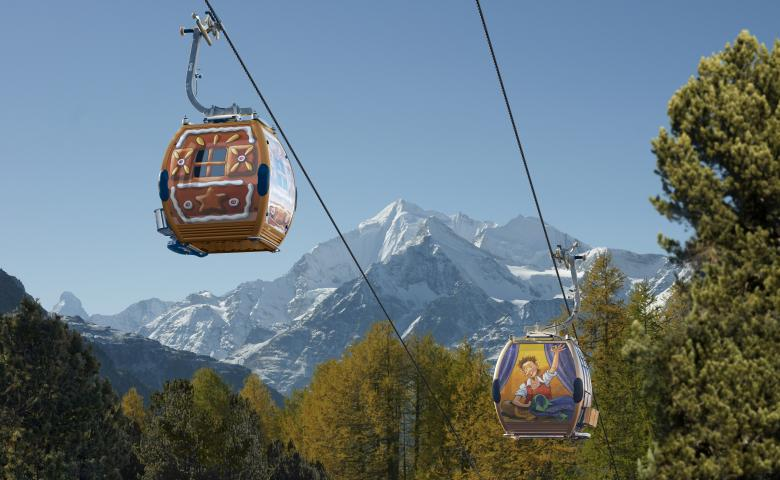 Fairytale cable car