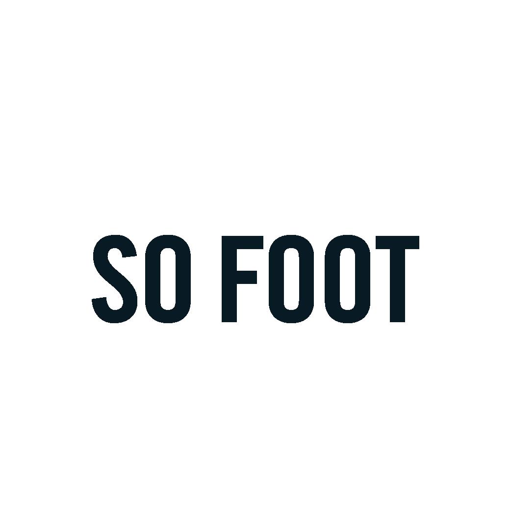 SO FOOT - so foot logo