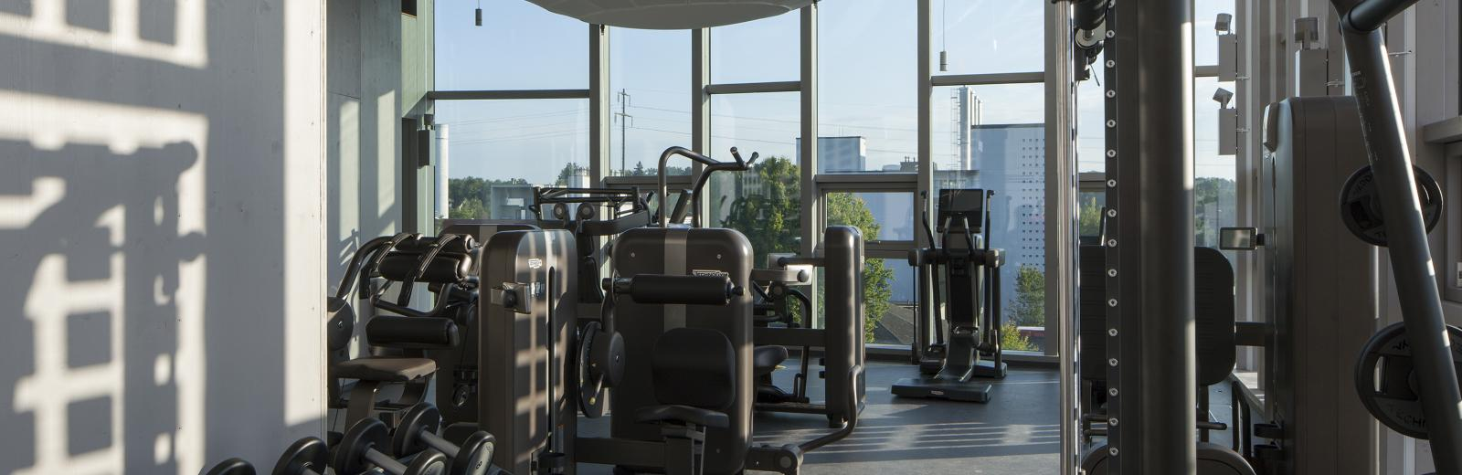 NEST Solar Fitness & Wellness unit © Empa / Reinhard Zimmermann