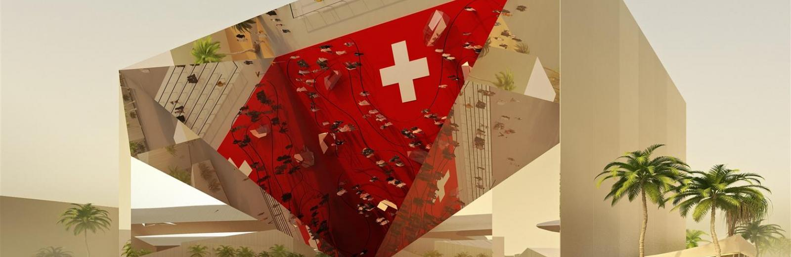 Swiss Pavilion at Expo 2020 Dubai