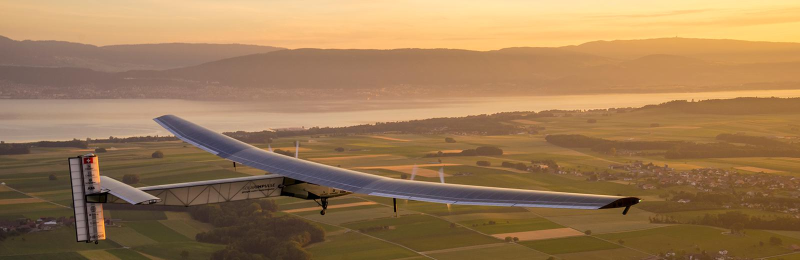 Solar Impulse and Bertrand Piccard