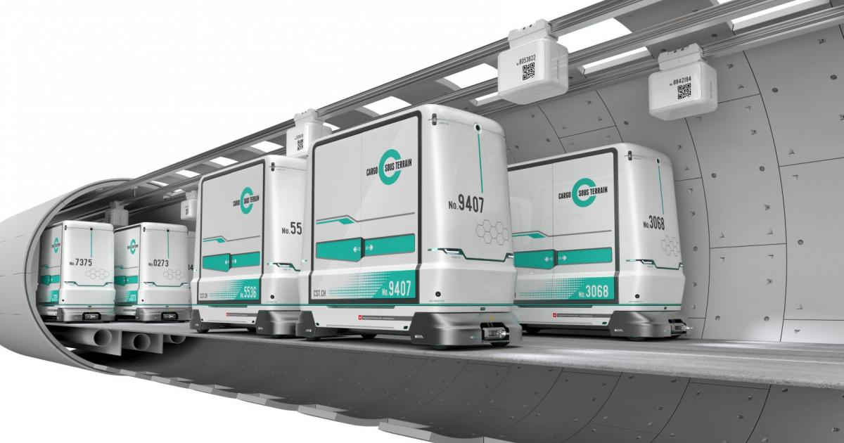 Cargo sous terrain: the project taking Swiss innovation to a whole new level