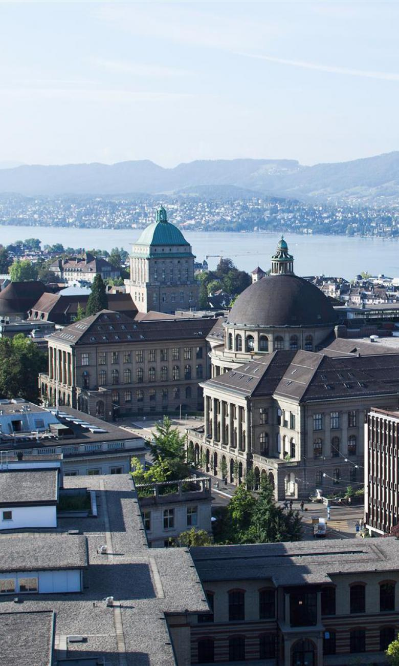 The historic heart of the institution (ETH Zurich Zentrum) is located right in the centre of Zurich.  Photo credits: ETH Zurich/Marco Carocari