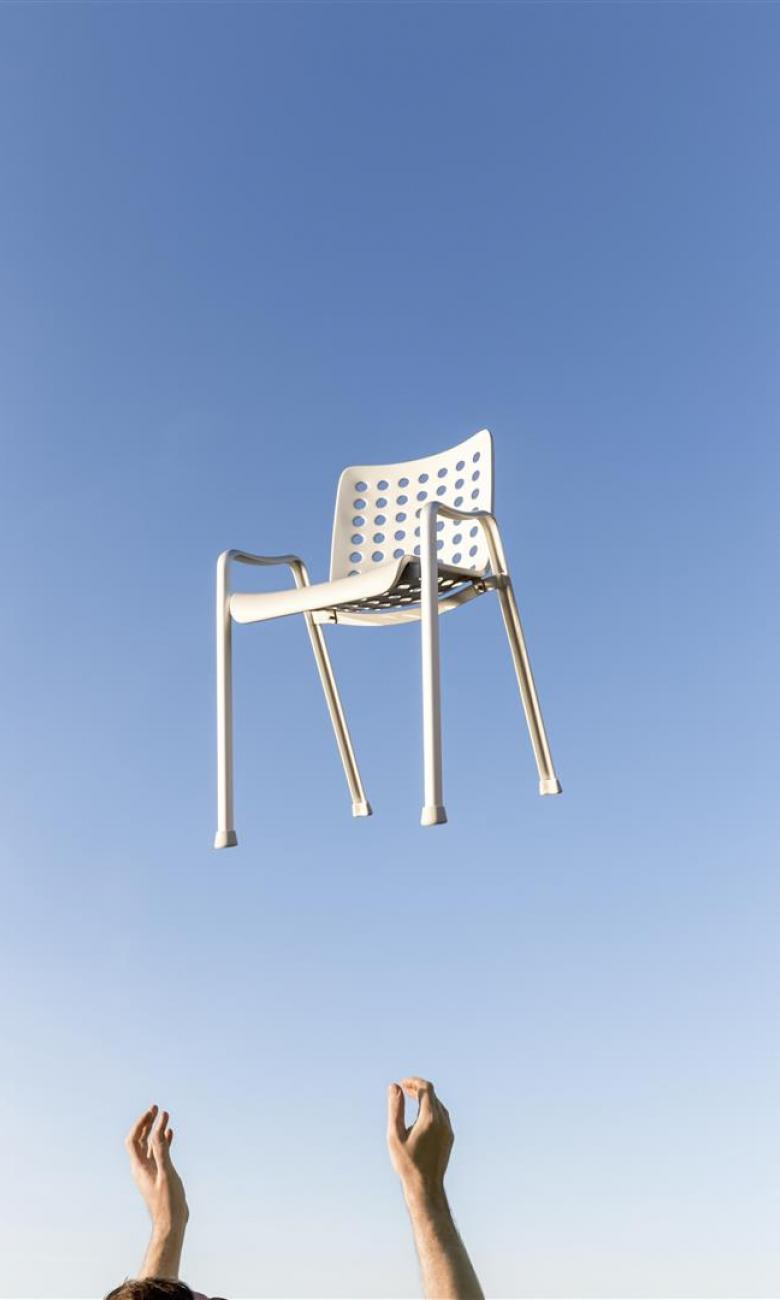 Hans Coray's Landi chair