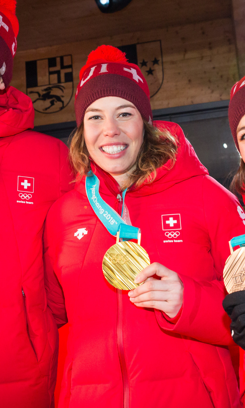 Michelle Gisin Winter Olympic Games at PyeongChang