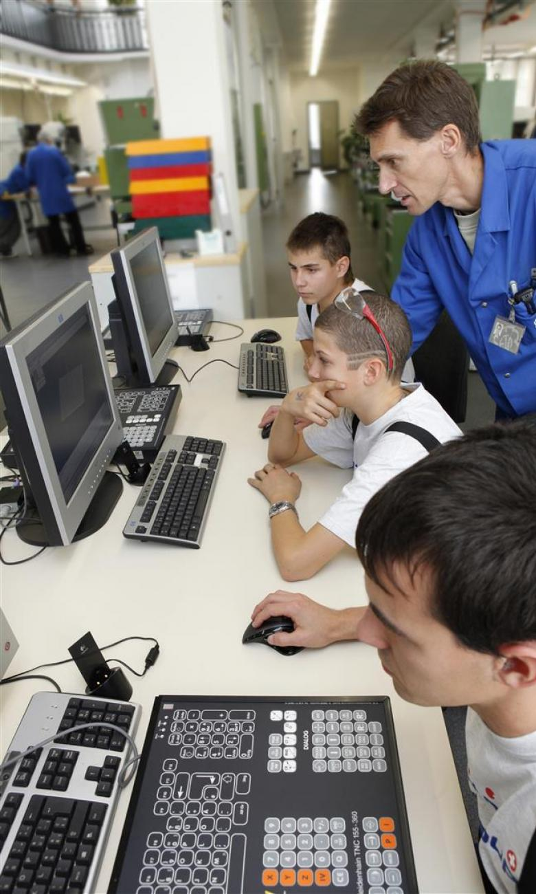 Apprenticeships in Switzerland