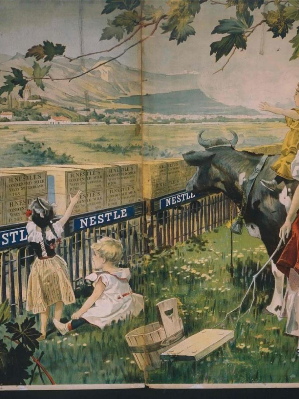 Advertising poster, around 1900