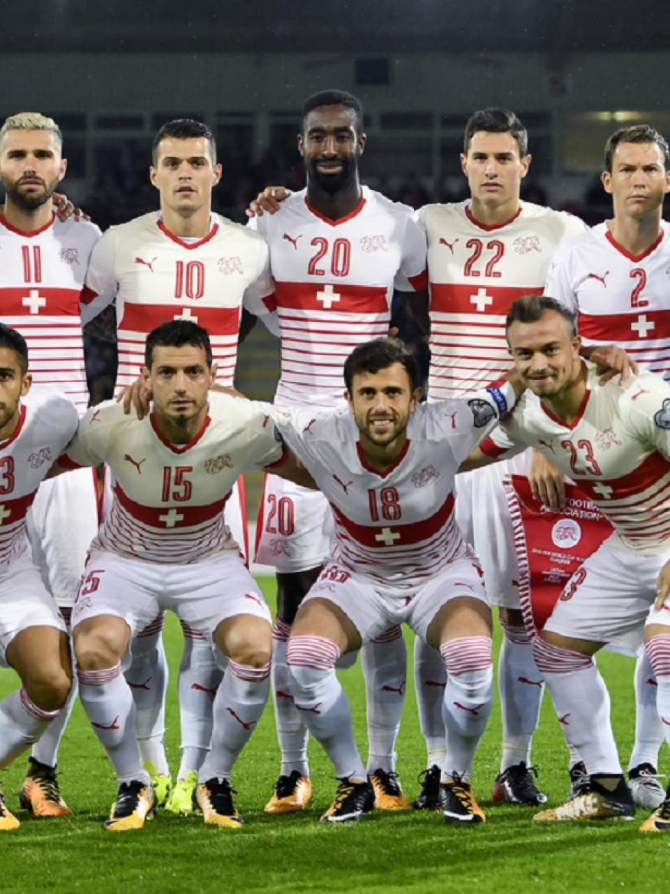 Switzerland national football team 2015 ©Steindy