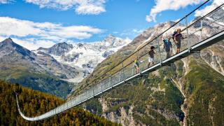 World's longest suspension bridge opens in Switzerland